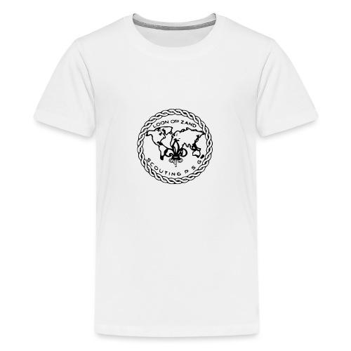 Logo PSG standaard zw klein eps - Teenager Premium T-shirt