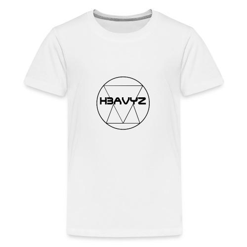 H3AVYZ- Pull gris chiné - T-shirt Premium Ado