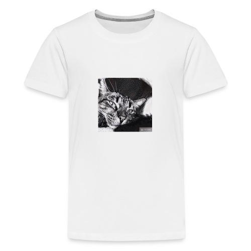 Katze1 - Teenager Premium T-Shirt