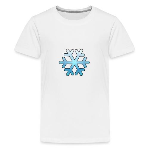 Schneeflocke - Teenager Premium T-Shirt