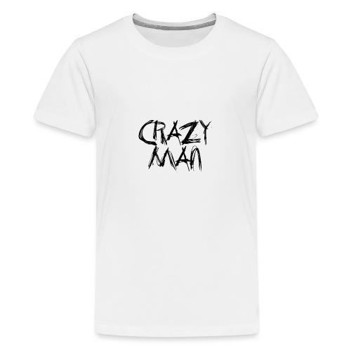 CRAZY MAN - Maglietta Premium per ragazzi