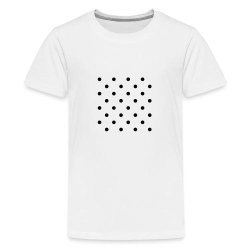 Dot box - Teenage Premium T-Shirt