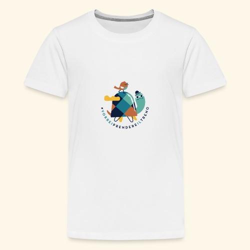 Tartaruga e uccellino - Maglietta Premium per ragazzi