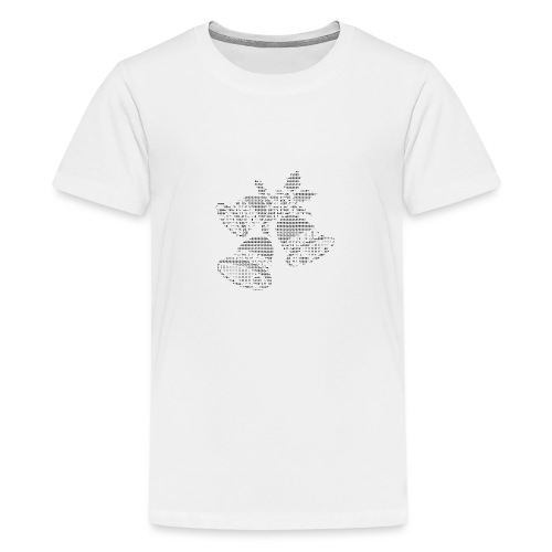 Isle of Xmas Bells Geek - Teenage Premium T-Shirt