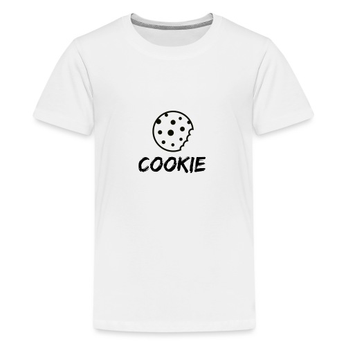 Cookie_-_Black_-_cookie - Teenage Premium T-Shirt