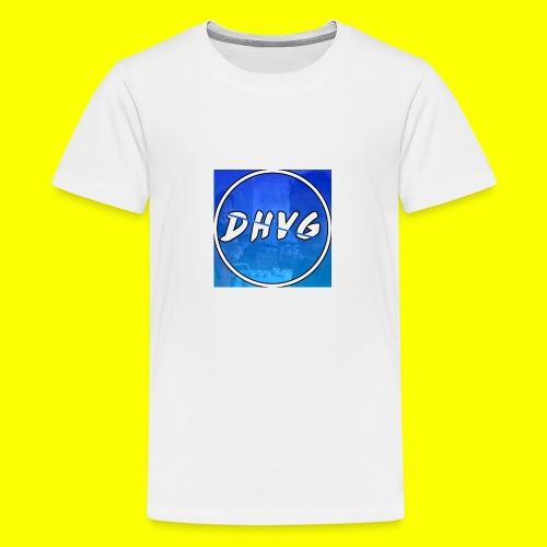 DusHeelVeelgamen New T shirt - Teenager Premium T-shirt