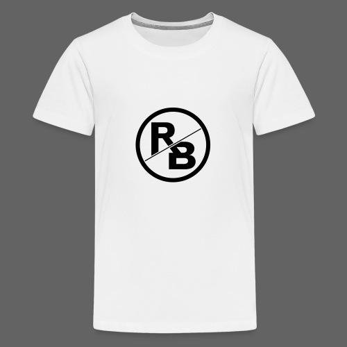 RONNY BRUNSON-LOGO.png - Teenager Premium T-Shirt