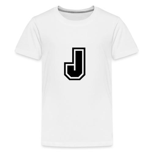 J black png - T-shirt Premium Ado