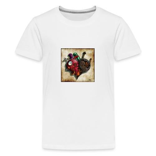 The Clockwork Heart - Teenage Premium T-Shirt