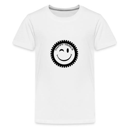 2016_HappyTrails_BW_new2 - Teenager Premium T-Shirt
