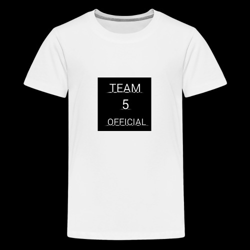 Team5 official 1st merchendise - Teenage Premium T-Shirt