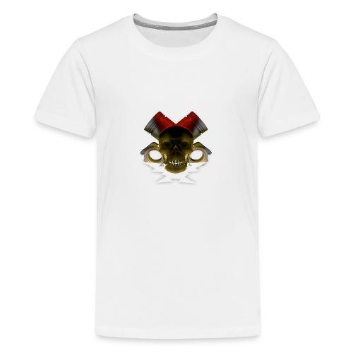 crane pistonné eclair - T-shirt Premium Ado
