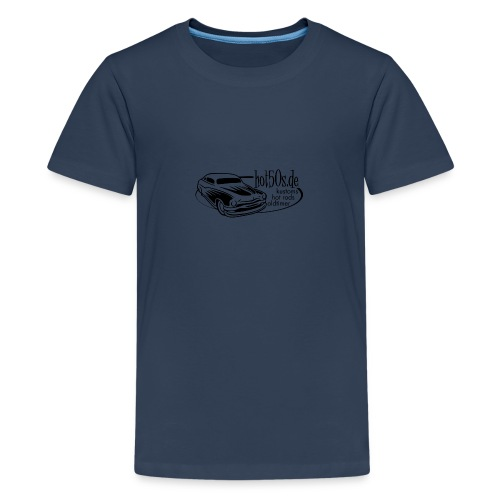 Hot50s Logo - Teenager Premium T-Shirt