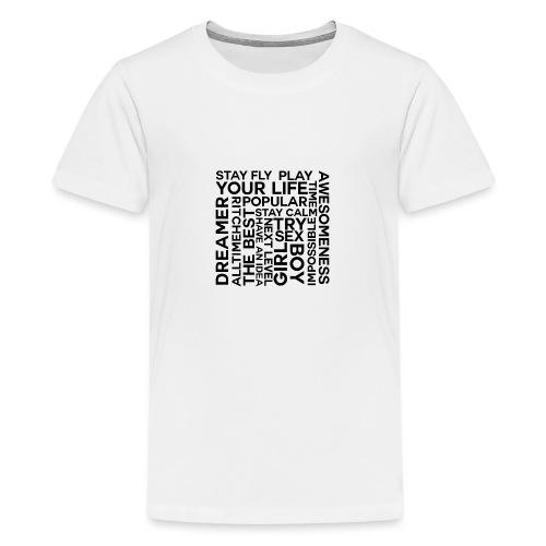 heilll png - Teenager Premium T-Shirt