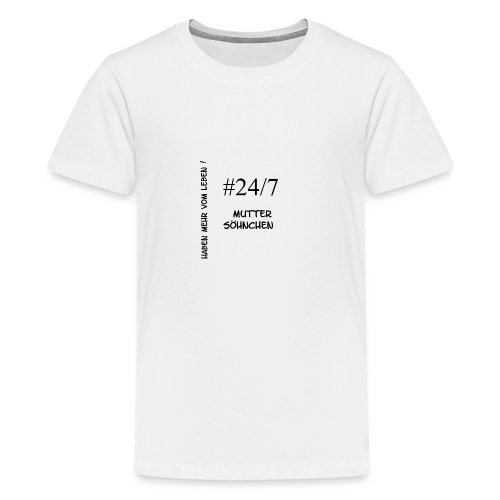 Muttersöhnchen - Teenager Premium T-Shirt