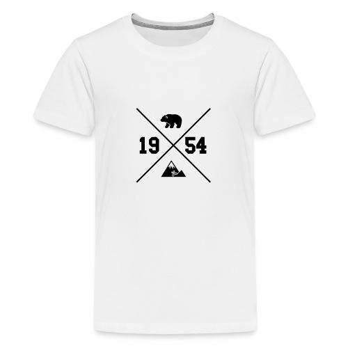 Karhuvuori -baseballhuppari - Teinien premium t-paita