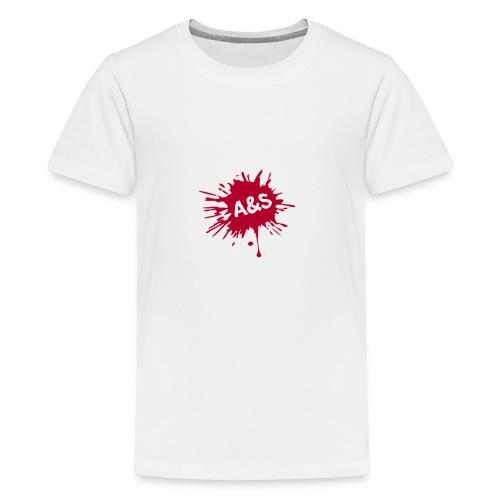 A&S - Camiseta premium adolescente