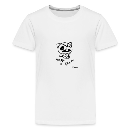 Happy tree friends Hug me or kill me - Dark cat' - T-shirt Premium Ado
