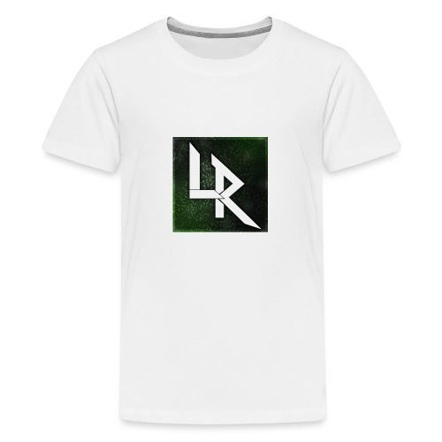 LAVARIXY LOGO - Teenage Premium T-Shirt