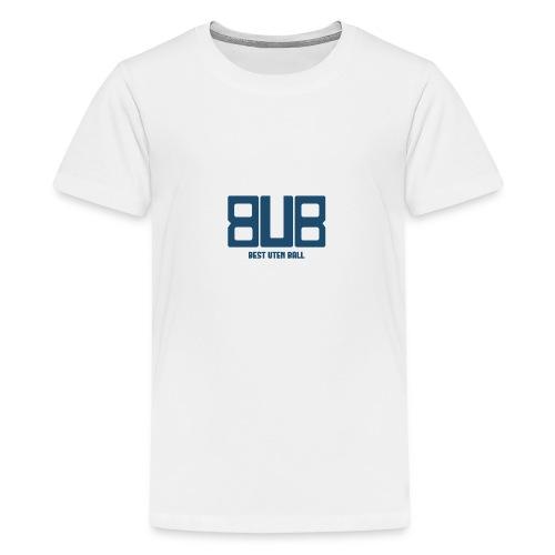 BUB - BLÅ - Premium T-skjorte for tenåringer