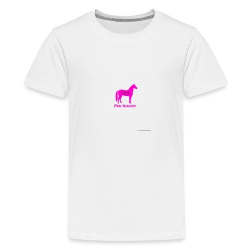 Pink Rubbish - Teenager Premium T-shirt