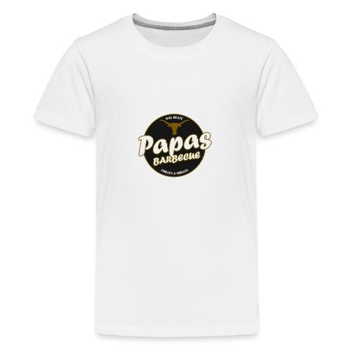 Papas Barbecue ist das Beste (Premium Shirt) - Teenager Premium T-Shirt