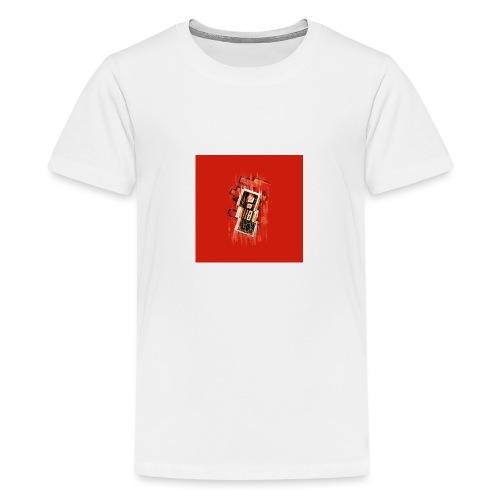 Blurry NES - Teenage Premium T-Shirt