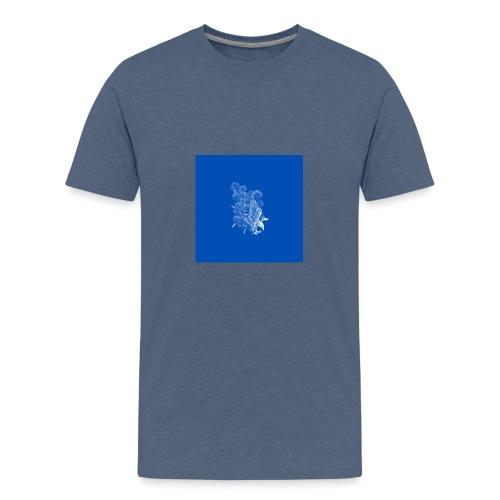 Windy Wings Blue - Teenage Premium T-Shirt