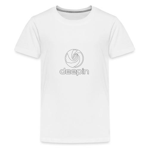 deepinlogotrasparente - Maglietta Premium per ragazzi