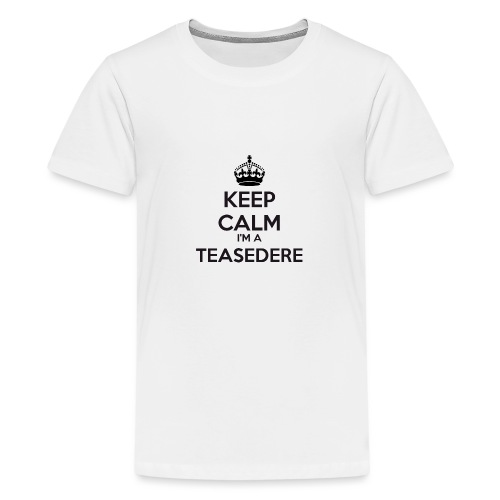 Teasedere keep calm - Teenage Premium T-Shirt