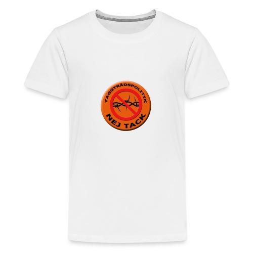 Taggtrådspolitik Ny - Premium-T-shirt tonåring