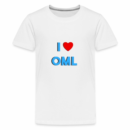 I LOVE OML - Teenager Premium T-shirt