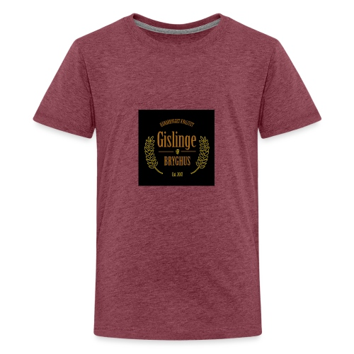 Sort logo 2017 - Teenager premium T-shirt