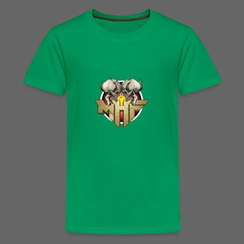 new mhf logo - Teenage Premium T-Shirt
