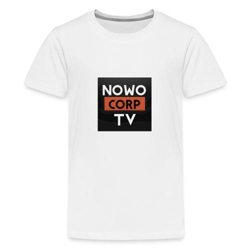 NowoCorptv - Teenager Premium T-Shirt