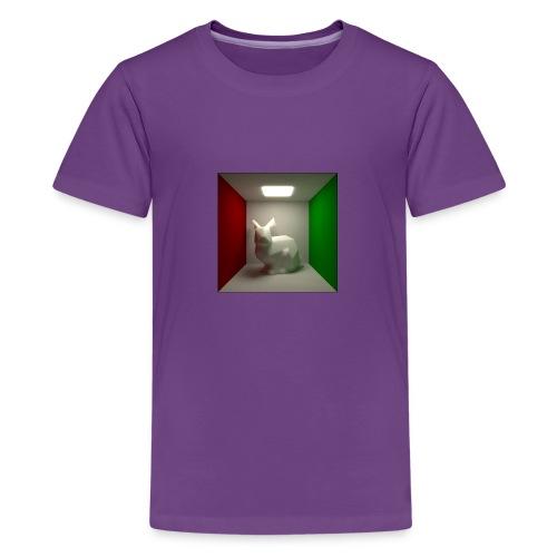 Bunny in a Box - Teenage Premium T-Shirt
