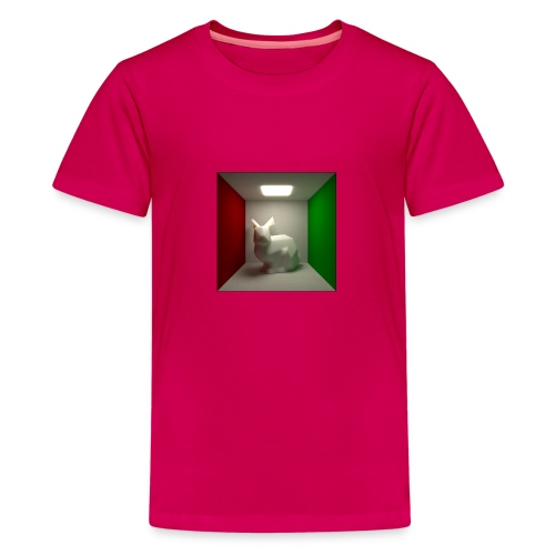 Bunny in a Box - Teenage Premium T-Shirt