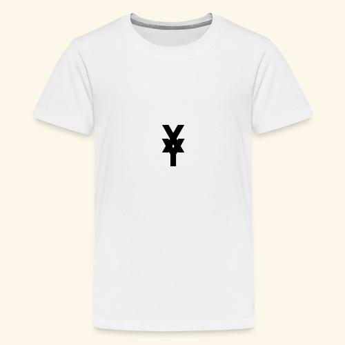 XY Logo In Black - Teenage Premium T-Shirt