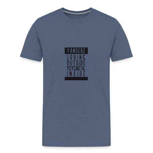 Yandere manga - Teenage Premium T-Shirt
