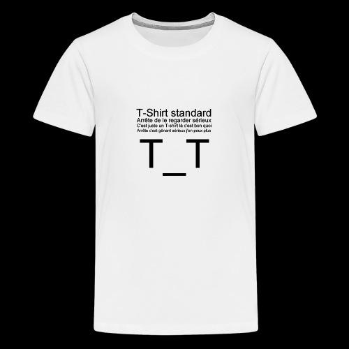 T-shirt dépressif - T-shirt Premium Ado
