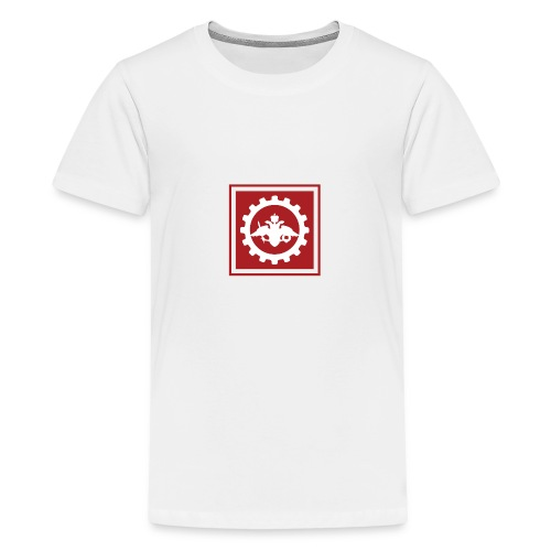 afrf transparent large - Teenage Premium T-Shirt