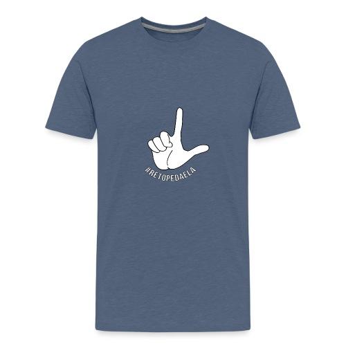 Dedo Big - #RetoPedaEla - Camiseta premium adolescente