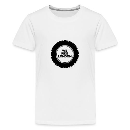 Simple WRL Logo Mk 2 - Teenage Premium T-Shirt