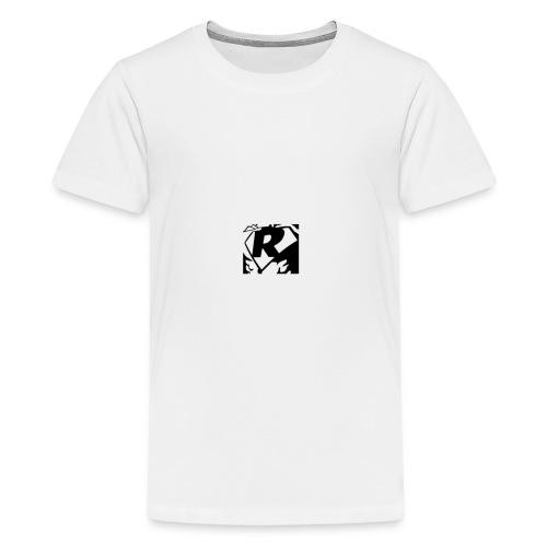 Black R2 - Teenage Premium T-Shirt