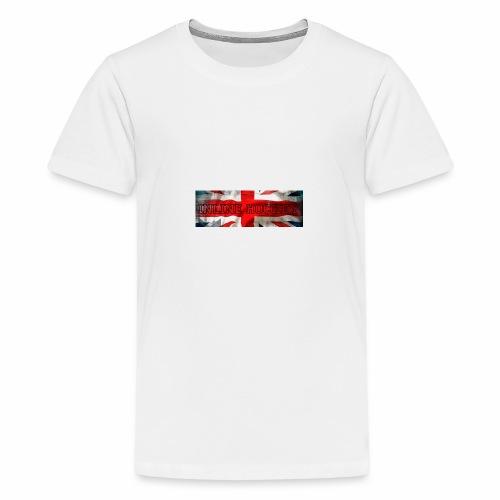 Inline Hockey Great Britain - T-shirt Premium Ado