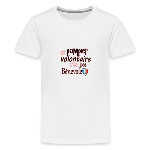 pompier volotaire - T-shirt Premium Ado