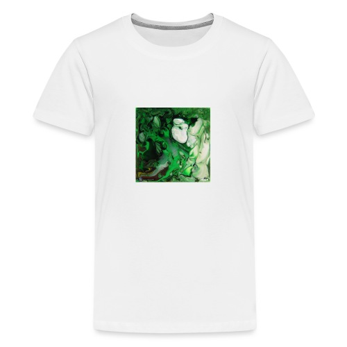 TIAN GREEN Mosaik DK017 - Hope - Teenager Premium T-Shirt