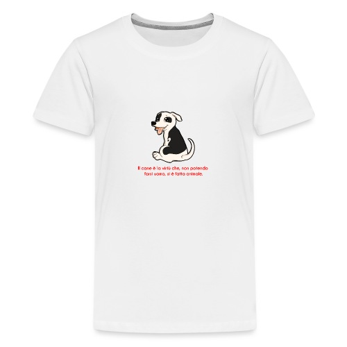 Aforisma cinofilo - Maglietta Premium per ragazzi