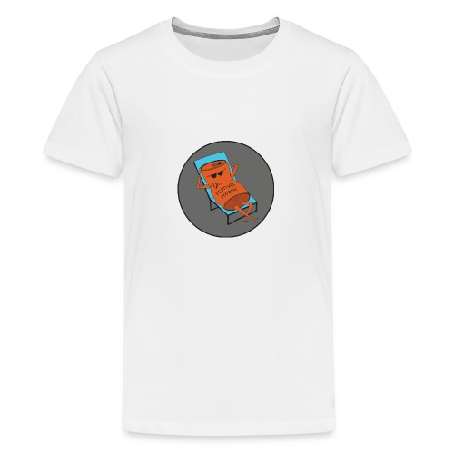 Festivalpodden - Loggan - Premium-T-shirt tonåring