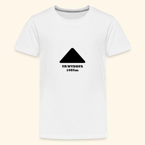 Snowdon - Teenage Premium T-Shirt